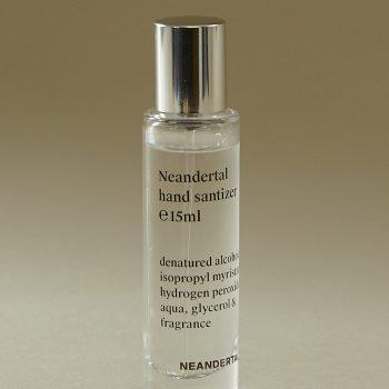 Free Neandertal hand sanitiser